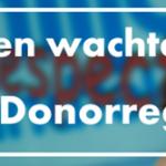 kleur banner campagne Orgaandonatie van 2MH voor Actieve DonorRegsitratie