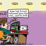 cartoon campagne Orgaandonatie van 2MH.nl voor Actieve DonorRegstratie