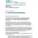 Burgerpetitie voor Actieve Donor Registratie (ADR) 2MH - 7 december 2010