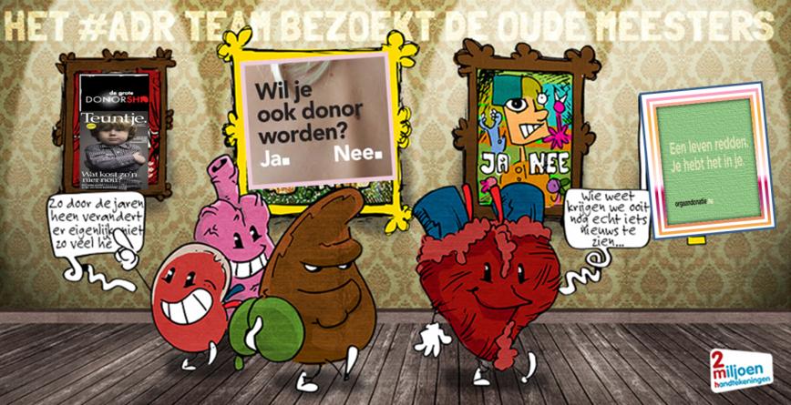 Campagnes orgaandonatie kosten minimaal 20 miljoen €, maar lever(d)en niets méér op